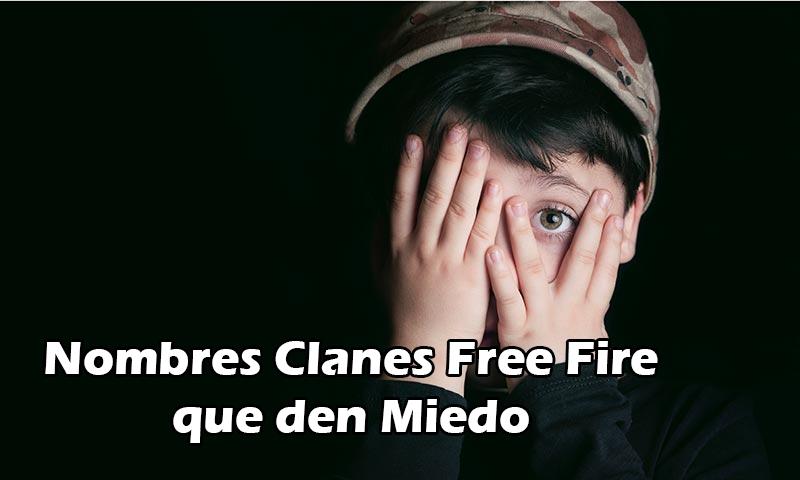 Nombres Clanes Free Fire que den Miedo
